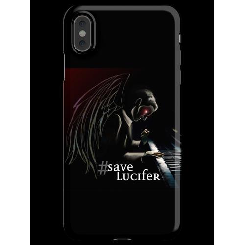 #SaveLucifer Lucifer am Klavier iPhone XS Max Handyhülle