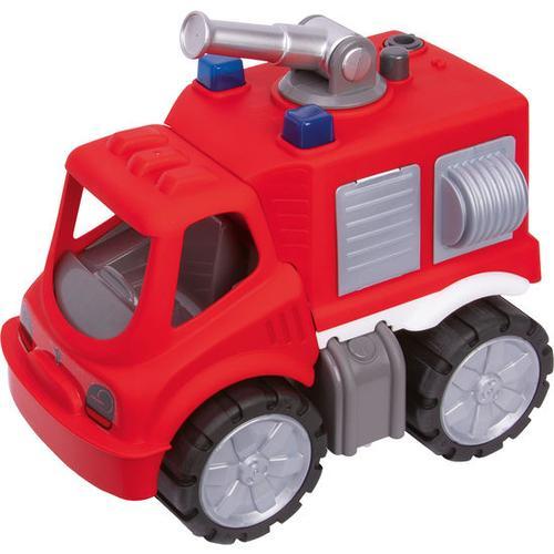 BIG Power-Worker Feuerwehr-Löschwagen, rot