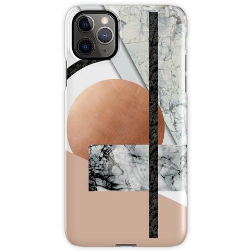 Collage II (Marmor, Kupfer, Vulkangestein) iPhone 11 Pro Max Handyhülle