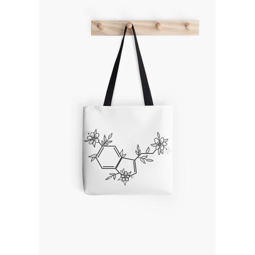 Serotonin Aufkleber Tasche