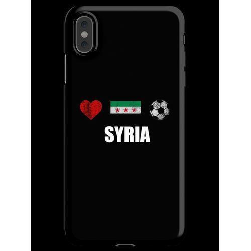 Syrien Fußballtrikot - Syrien Fußballtrikot iPhone XS Max Handyhülle