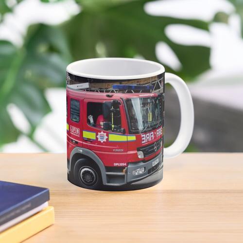 London Feuerwehr Soho Pumpe Tasse