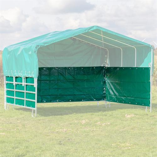 VOSS.farming Seitenplanen-Set für Weidepanel-Zelt, Weidezelt