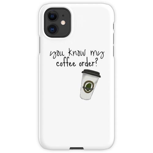 Grande fettfreier Mokka iPhone 11 Handyhülle