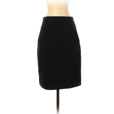 Banana Republic Wool Skirt: Blac...