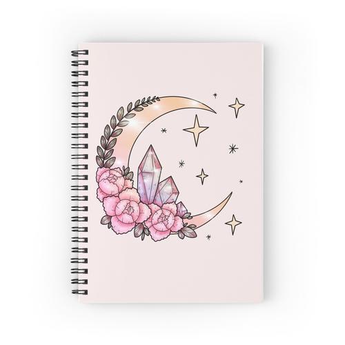 Mond + Kristalle Spiralblöcke