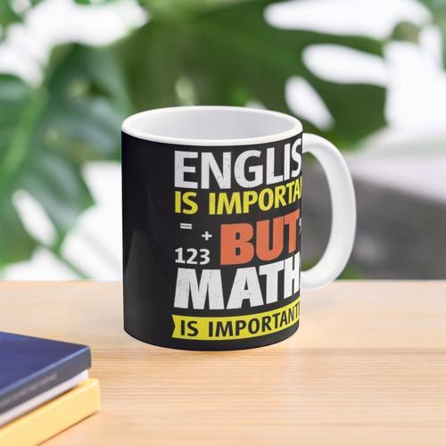 aber so ist Englisch Tasse