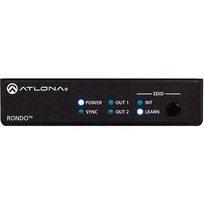 Atlona AT-RON-442 4K HDR Two output Distro Amp