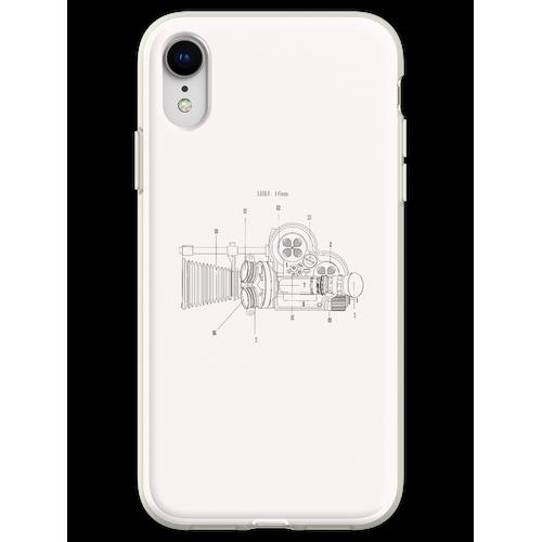 Arriflex 16mm Filmkamera Flexible Hülle für iPhone XR