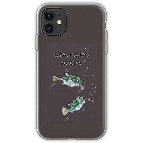 Zwerg Kugelfisch ... sie sind OK! Flexible Hülle für iPhone 11