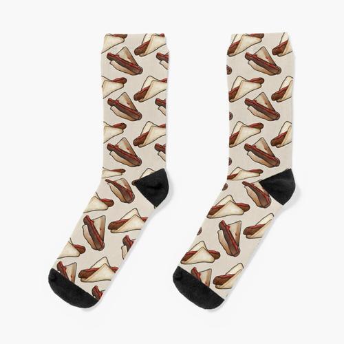 Aussie BBQ Snag in Creme, klein Socken