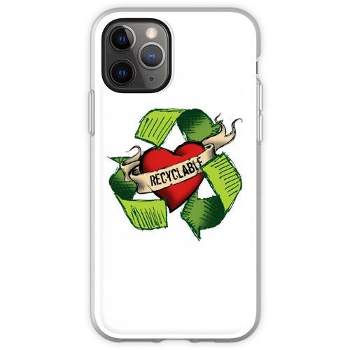 Ich bin recyclebar Flexible Hülle für iPhone 11 Pro