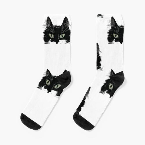 Smoking Cat Socken