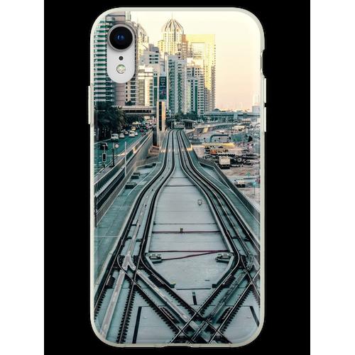 Eisenbahntag Flexible Hülle für iPhone XR