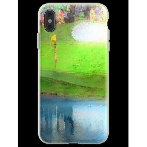 Das Masters - Das Masters Golf - Masters Golf - 16. Loch - Augusta Flexible Hülle für iPhone XS Max