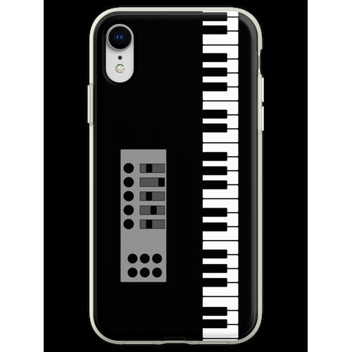 Keyboard Klavier Flexible Hülle für iPhone XR