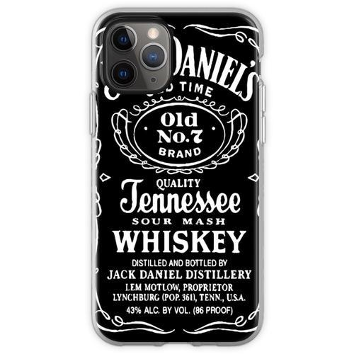 Spirituosen Alkohol Spirituosen Flexible Hülle für iPhone 11 Pro