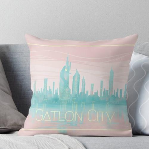 Gatlon City Throw Pillow