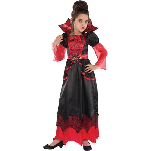 Kostüm Vampirella, bunt, Gr. 110/116