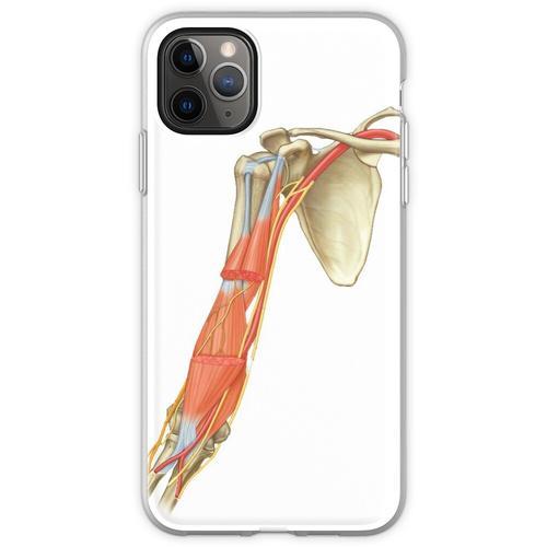 Schulterblatt und Arm Flexible Hülle für iPhone 11 Pro Max