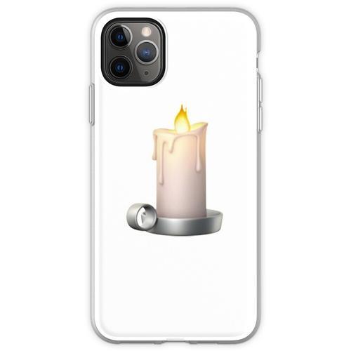 Kerze Emoji Flexible Hülle für iPhone 11 Pro Max