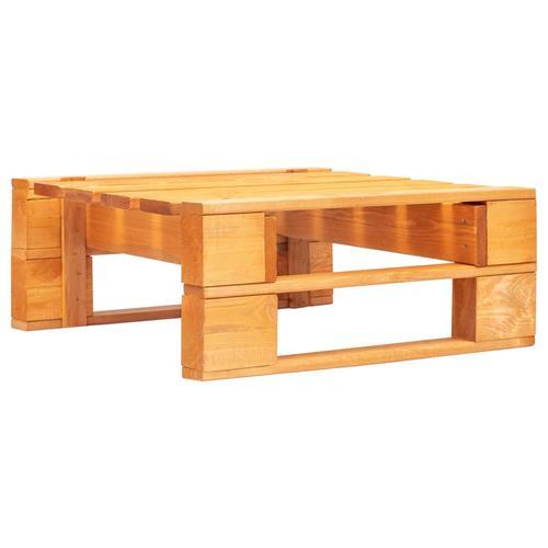 vidaXL Garten-Palettenhocker Holz Honigbraun