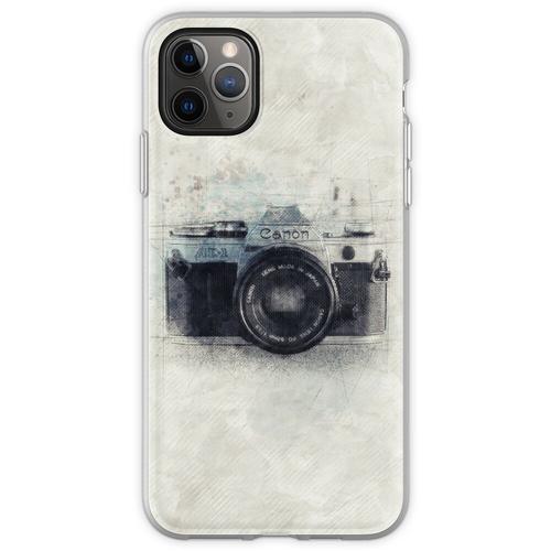 Canon Kunst, Canon Kamera, Canon Dekor, Kamera, Vintage Canon, Flexible Hülle für iPhone 11 Pro Max