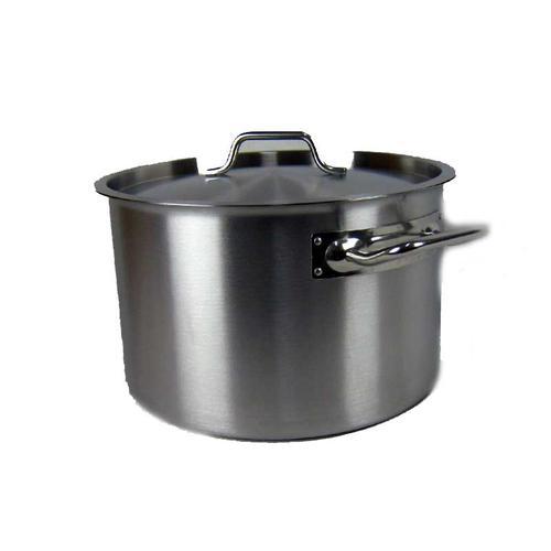 Airbrush-City Kochtopf Gastrotopf Topf 24 Liter Edelstahl mit Deckel Großküche Gastronomie