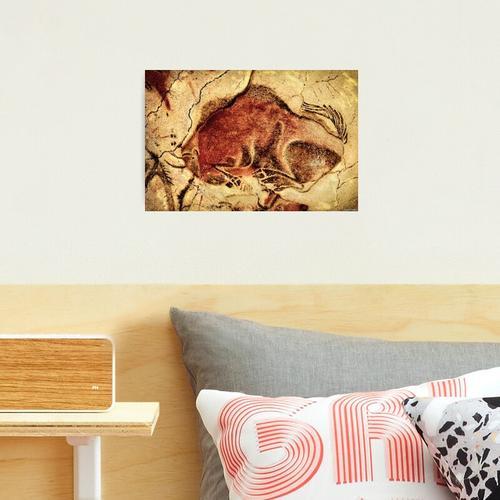 Altamira Bison in Ruhe Fotodruck