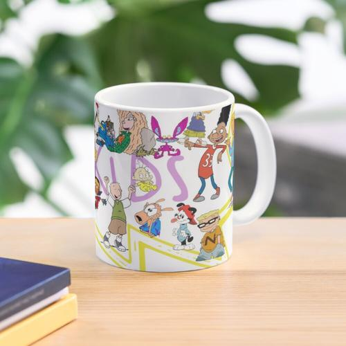 90er Kid Nickelodeon Tasse