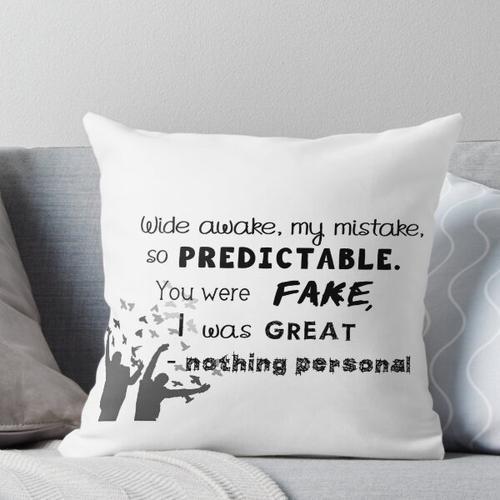 nichts Persönliches Kissen