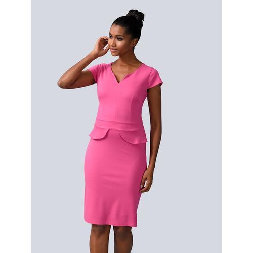 Alba Moda, Kleid in figurbetonte Form, rosé