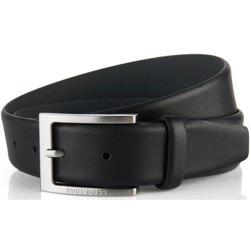 Boss Ledergürtel, aus Nappaleder schwarz Damen Ledergürtel Gürtel Accessoires