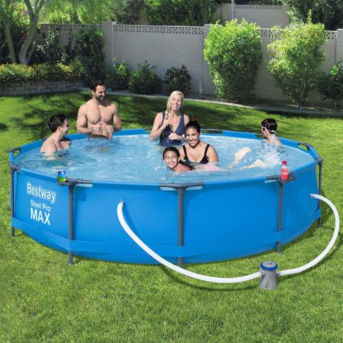 Bestway Swimmingpool-Set Steel Pro Max Rahmen 366 x 76 cm