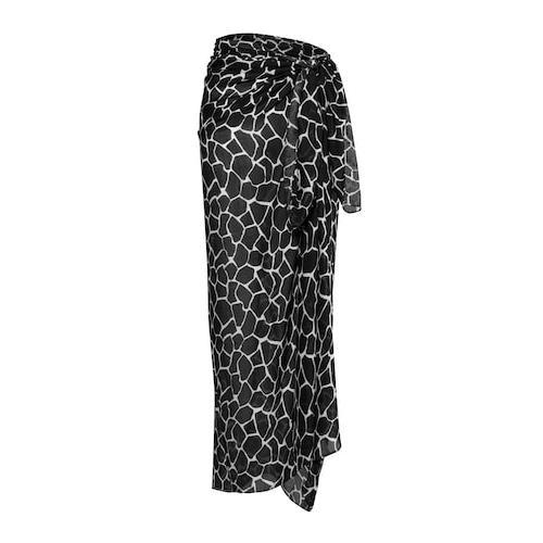 Große Größen Pareo Damen (Größe One Size, multicolor) | Ulla Popken Schals & Tücher | Viskose, luftig-leichtes Strandtuch