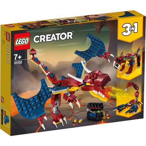 LEGO® Creator 31102 Feuerdrache, bunt