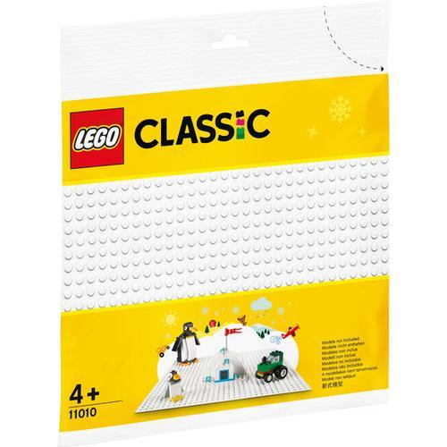 LEGO® Classic 11010 Weisse Bauplatte, bunt