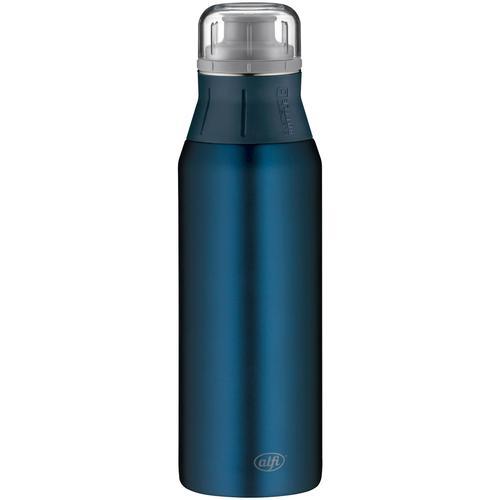Alfi Trinkflasche Pure, Edelstahl blau Aufbewahrung Küchenhelfer Haushaltswaren