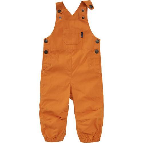 Latzhose, orange, Gr. 92/98
