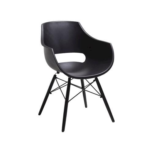 Bodahl Designerstuhl Jazz schwarz