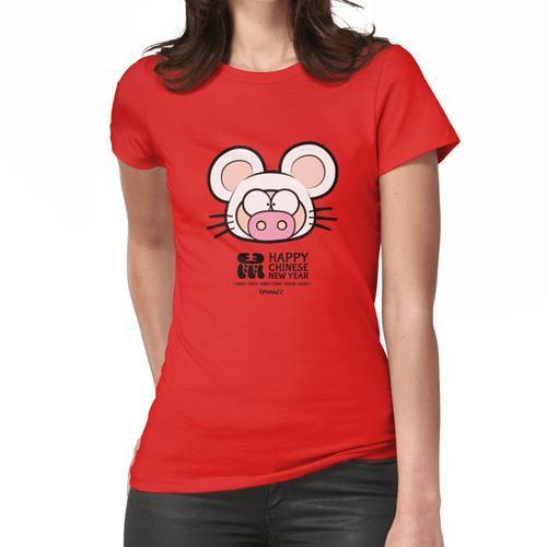 Jahr des Schweins Chinesisches Neujahr (Rattenschwein) Frauen T-Shirt