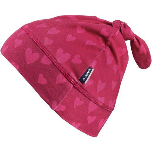 Jersey-Zipfelmütze, pink, Gr. 50/52