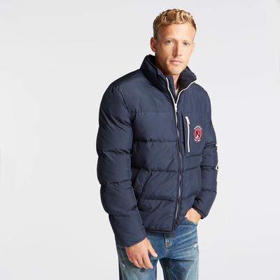 Nautica Men's Big & Tall Puffer Jacket With Tempasphere Navy, 3XLT