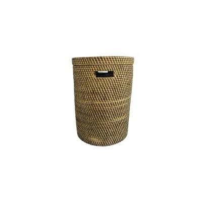 The Goods - Small Brown Rattan L...