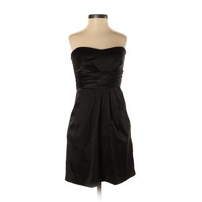 Trixxi Cocktail Dress - Formal: Black Solid Dresses - Used - Size 1