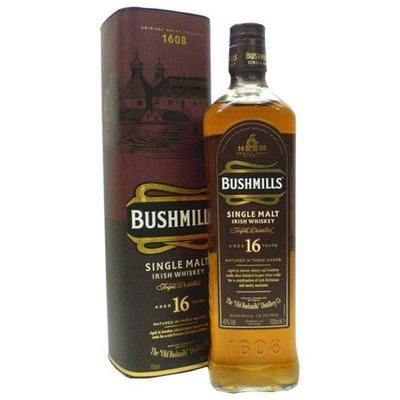Bushmills Irish Whiskey 16 Year 750ml