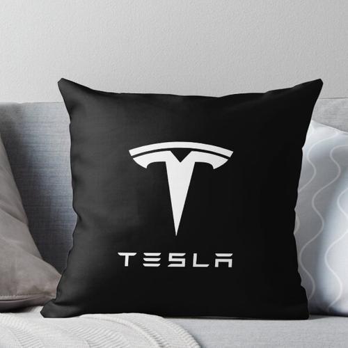 Meistverkauftes Tesla-Logo Kissen