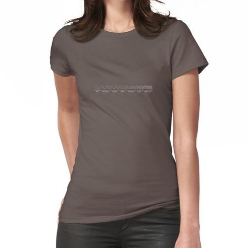 elektromagnetisches Spektrum Frauen T-Shirt