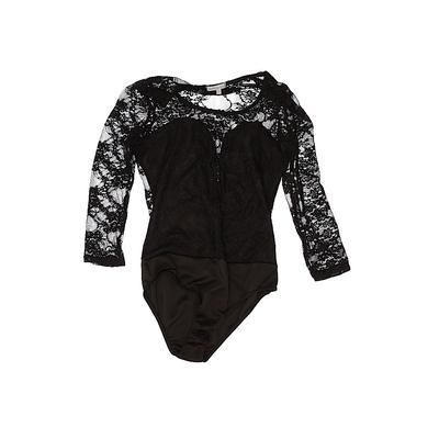 Charlotte Russe Bodysuit: Black ...