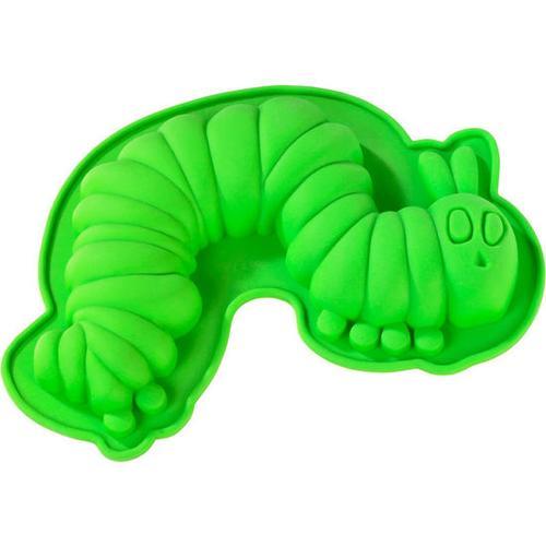 JAKO-O Backform Die kleine Raupe Nimmersatt®, grün